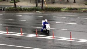 台風での配達は無謀です!どうか拡散してドライバーの命を救って欲しい!